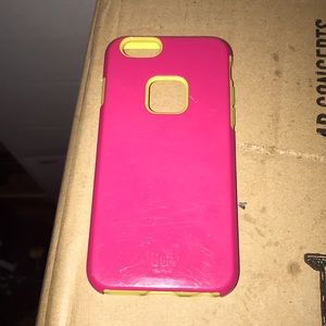 Pink/Yellow IPhone Case
